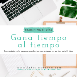 Trainnig 21 dias - Leticia Codina